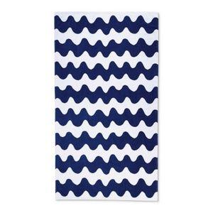 Marimekko for target blue lokki beach towel